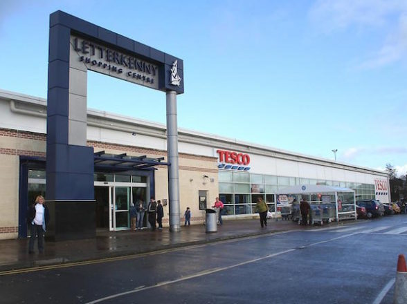 PROPOSED TESCO ACCESS LETTERKENNY